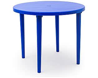 Пластиковый стол Стандарт Пластик круглый, д. 900 мм