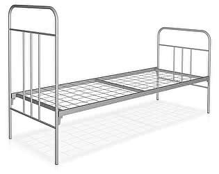 Купить кровать Метмебель КМ6 тип С