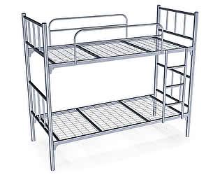 Металлическая кровать Метмебель КМ27