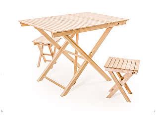Комплект садовой мебели СМКА СМ004Б+СМ018Б 2 шт