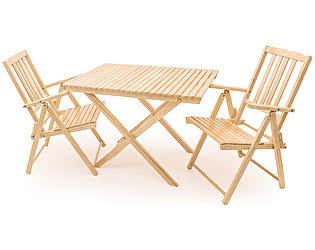 Комплект садовой мебели СМКА СМ004Б+СМ047Б 2 шт