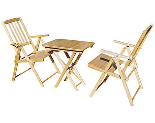 Купить  комплект садовой мебели СМКА СМ011Б + СМ047Б