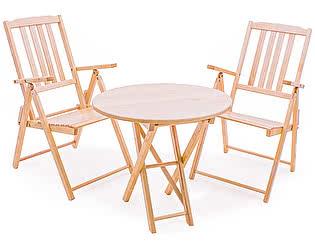 Комплект садовой мебели СМКА Комфорт СМ047Б, 2 шт+СМ049Б