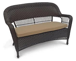Плетеный диван Афина-мебель LV130-1