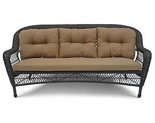 Плетеный диван Афина-мебель LV216-1 Brown/Beige