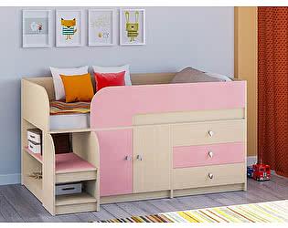 Купить кровать РВ Мебель чердак Астра-9 Дуб молочный V1
