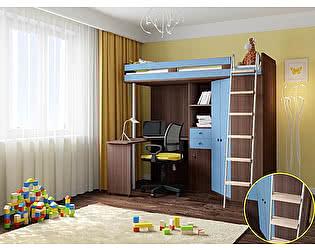Кровать-чердак РВ Мебель М-85 Дуб Шамони