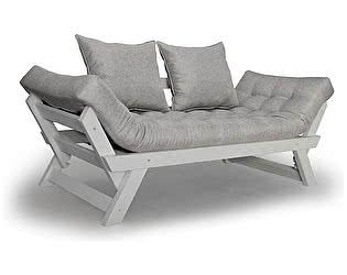 Садовый диван АНД Отман белая эмаль
