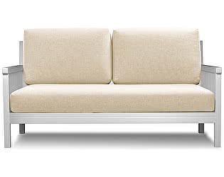 Садовый диван АНД Норман белая эмаль