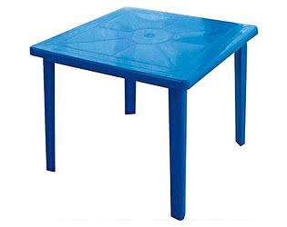 Пластиковый стол Отдых с комфортом квадратный 80х80 СП
