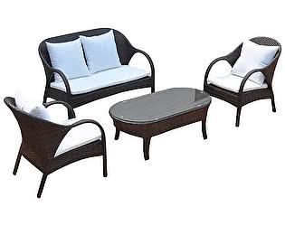 Комплект плетеной мебели Kvimol KM-0040