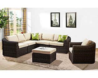 Купить  комплект садовой мебели Rotang Lux Комплект Малага