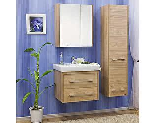 Мебель для ванной Sanflor Ларго 2 70 вяз швейцарский