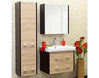 Мебель для ванной Sanflor Ларго 2 70 вяз швейцарский, венге