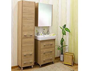 Мебель для ванной Sanflor Ларго 60 вяз швейцарский
