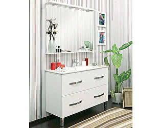 Мебель для ванной Sanflor Рио 120/2 на ножках