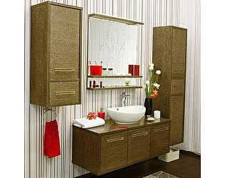 Мебель для ванной Sanflor Румба 120 венге, патина золото