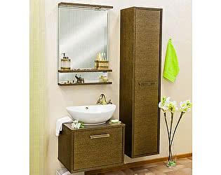 Мебель для ванной Sanflor Румба 60 венге, патина золото