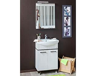 Купить готовую ванную комнату Sanflor Толедо 75 венге, северное дерево светлое