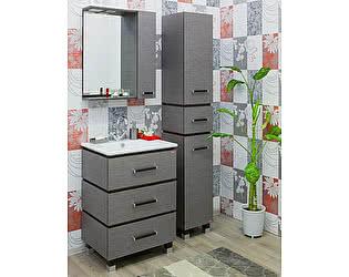Купить готовую ванную комнату Sanflor Торонто 60 венге, орфео серый