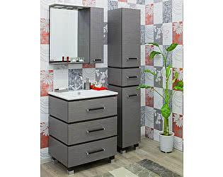Купить готовую ванную комнату Sanflor Торонто 75 венге, орфео серый