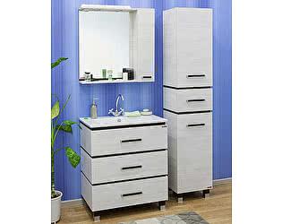 Купить готовую ванную комнату Sanflor Торонто 75 венге, северное дерево светлое