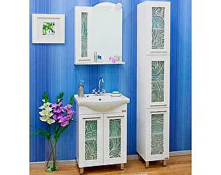 Мебель для ванной Sanflor Валлетта 60 зеркальный узор