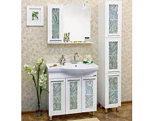 Купить готовую ванную комнату Sanflor Валлетта 80 зеркальный узор L