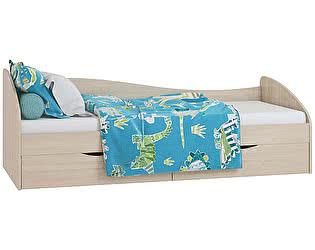 Кровать с ящиками Лукас