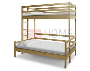 Кровать Шале Орленок (спальное место нижнего яруса 140) двухъярусная