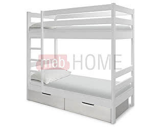 Кровать Шале Саша -2 двухъярусная