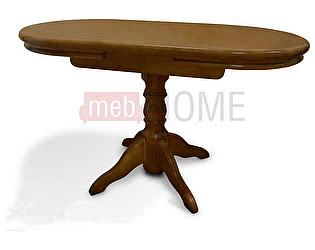 Стол обеденный раздвижной Майкрофт Шале, овальный