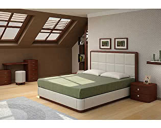 Кровать Торис Атриа Е2 (Виваре) экокожа
