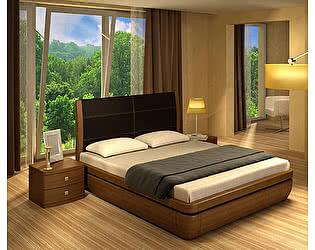 Кровать Торис Тау-классик E1 (Лило) экокожа