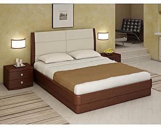 Кровать Торис Юма E1 (Лило) экокожа