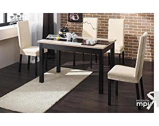 Раскладной стол Бештау Диез Т7 (ОГ-007.001) со стульями Этюд Т5