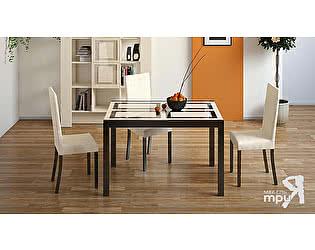 Раскладной стол Бештау ДиезТ4 (С-345) со стеклом