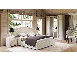 Кровать с подъемным механизмом и мягким изголовьем Адель СМ-300.01.11(5)