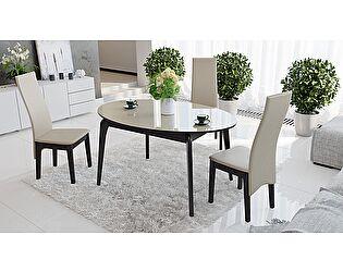 Стол обеденный ТриЯ Марсель раздвижной со стеклом, арт. СМ(Б)-102.01.12(1)