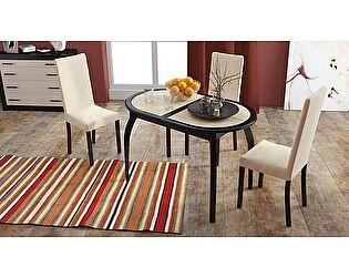 Стол обеденный ТриЯ Стамбул O на деревянных ножках, арт. СМ-220.03.15