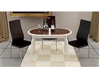 Стол обеденный ТриЯ Стамбул на деревянных ножках, арт. СМ-220.03.15