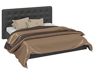 Кровать ТриЯ Сити СМ-194.01.003-М с мягким изголовьем