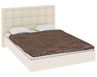 Кровать ТриЯ Токио СМ-131.02.002-М с мягким изголовьем