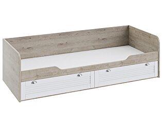 Кровать ТриЯ Ривьера ТД-241.12.01 с 2-мя ящиками