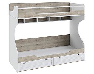 Двухъярусная кровать «Ривьера» ТД-241.11.01