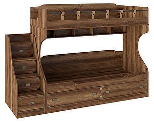 Кровать двухъярусная с приставной лестницей ТриЯ Навигатор, СМ-250.11.12