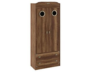 Шкаф комбинированный для одежды с иллюминатором ТриЯ Навигатор, СМ-250.07.22