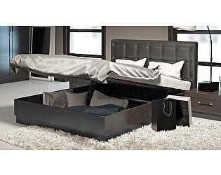 Кроват ТриЯ Токио СМ-131.13.002 с подъемным механизмом и мягким изголовьем