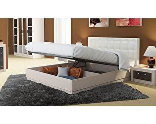 Кровать ТриЯ Токио СМ-131.12.002 с подъемным механизмом и мягким изголовьем