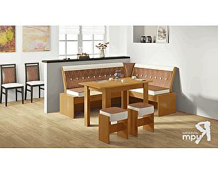 Кухонный уголок ТриЯ Кантри Т1 исп.1, арт. МФ-105.031 со столом